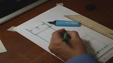 architectural floor plan sketch  hand drawing  youtube