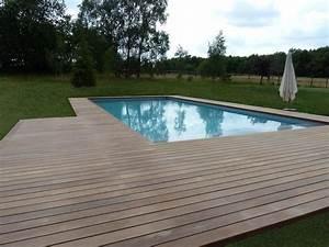 Tour De Piscine Bois : terrasse en bois 78 autour d 39 une piscine france terrasse ~ Premium-room.com Idées de Décoration