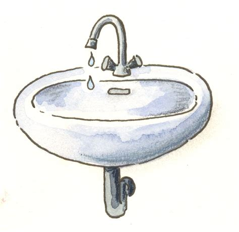 Waschbecken Clipart tesoley.com