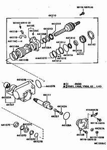 Front Steering Gear  U0026 Link For 1985