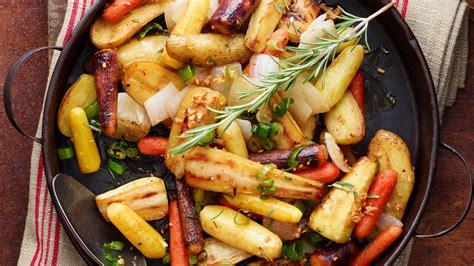 Jamie Oliver Roasted Root Vegetables