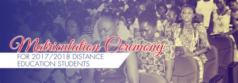 uew distance students matriculation ceremony date revised