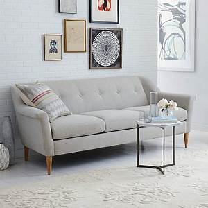 finn sofa 835quot west elm With sectional sofas grande prairie ab