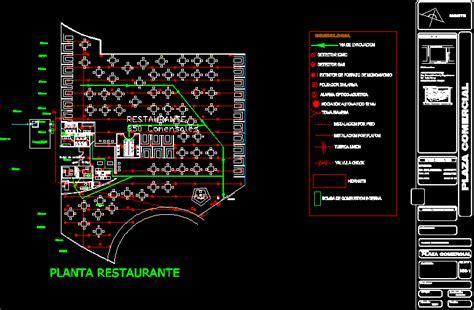 Installation Against Fire( Restaurant) DWG Block for