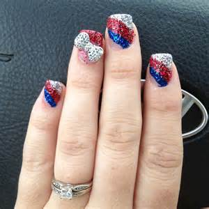 Colorful th of july nails and designs