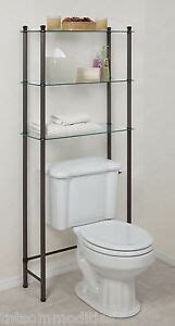 Etagere Floor L by L Etagere Toilet Space Saver 3 Shelf Tempered Glass