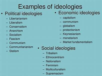 Ideology Political Examples Culture Ideologies Communism Liberalism