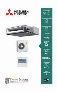 Clim Reversible Gainable : climatisation gainable r versible mitsubishi electric inverter ~ Edinachiropracticcenter.com Idées de Décoration