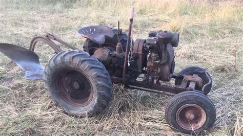 Vintage Garden Tractors by 1941 Speedex Model B Antique Garden Tractor