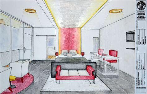 Bedroom Interior Perspective By Shilta On Deviantart