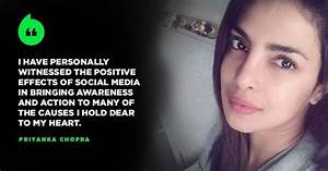 Priyanka Joins Hands With Facebook - Indiatimes.com