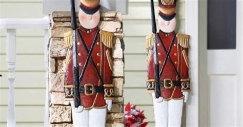 amazon com collections etc metal holiday tin soldier