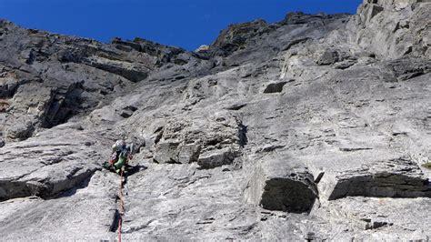 multi pitch rock climbing program  canmore  day trip