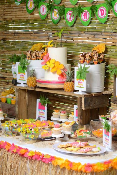 117 Best Images About Tropical Luau Sweet 16 Ideas On