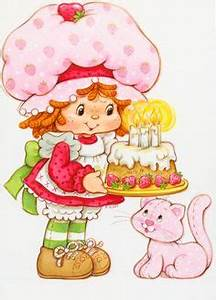 strawberry shortcake characters - Google Search | 80's ...
