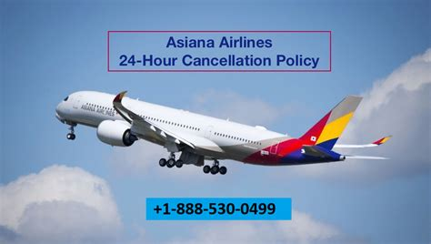 Asiana Airlines Cancellation & Refund Policy