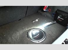 Pioneer w260s4 10 inch 300w rms YouTube