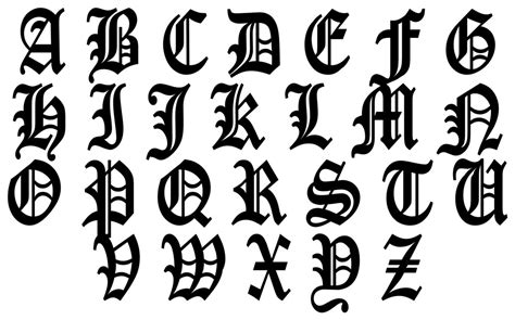 Shed Free Large Dogs by Printable Old English Calligraphy Alphabet Dog Breeds