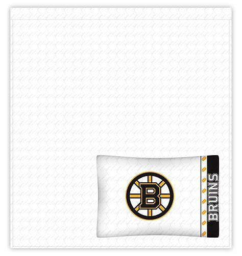 nhl boston bruins comforter  sheets  pc twin