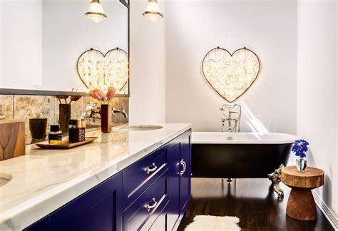 blue bathroom vanity contemporary bathroom svz