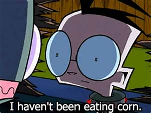 invader zim cor... Invader Zim Halloween Quotes