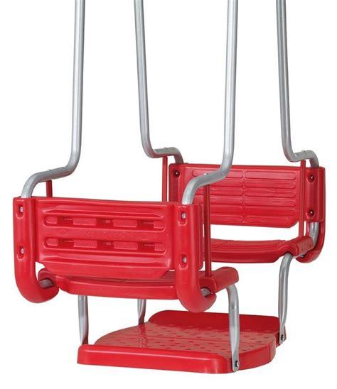 wooden swing amazon com kettler gondola swing set accessory toys