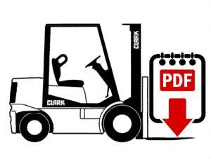 clark    forklift repair manual