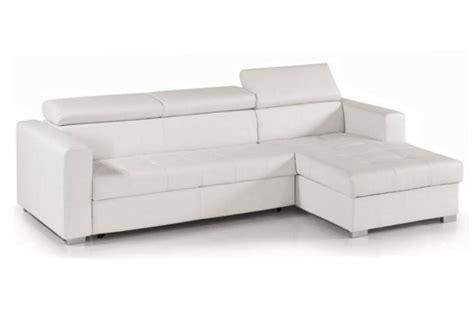 canape blanc pas cher photos canapé convertible cuir blanc pas cher