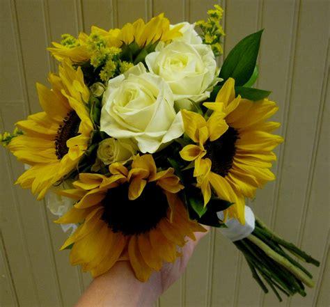 Goegebeurs Blog Wedding Bouquet Sunflowers