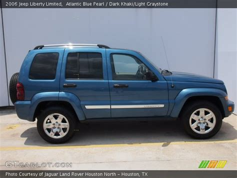 desert tan jeep liberty atlantic blue pearl 2006 jeep liberty limited dark