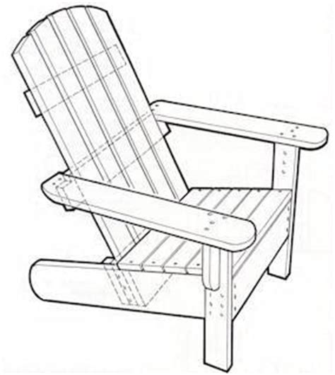 Project Working Adirondack Chair Plans Templates