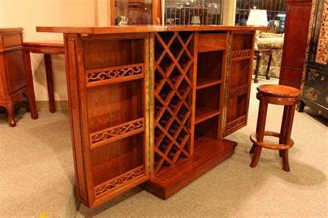 Folding Home Bar by Welcome To Rosewood Furniture Inc Exquisite Works