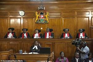 Kenya stunned as President's victory overturned | Daily ...
