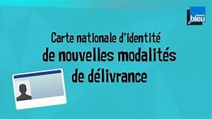 Carte D Identité Provisoire : carte nationale d identit de nouvelles modalit s de d livrance youtube ~ Medecine-chirurgie-esthetiques.com Avis de Voitures