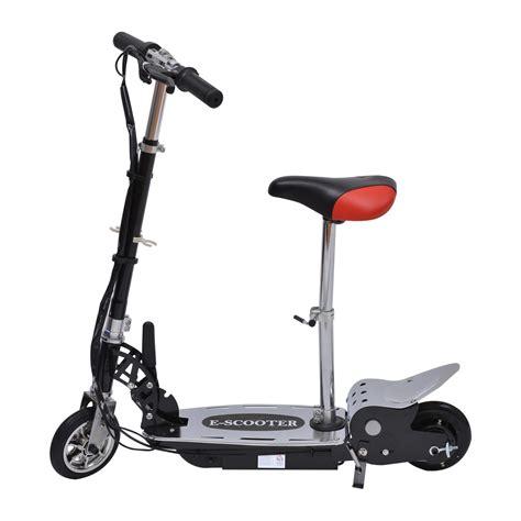 trotinette avec siege homcom trottinette patinette électrique pliable plus de 8