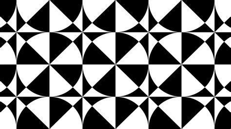 Abstract Geometric Shapes Black And White by Design Patterns Tile Patterns Geometric Patterns