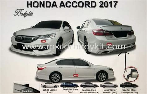 Honda Accord 2017 Am Style Bodykit With Spoiler Accord