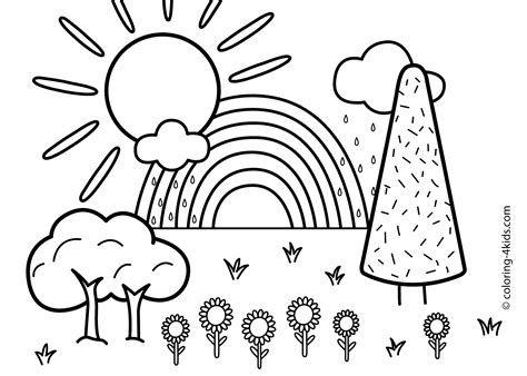 forest coloring page  children coloring home