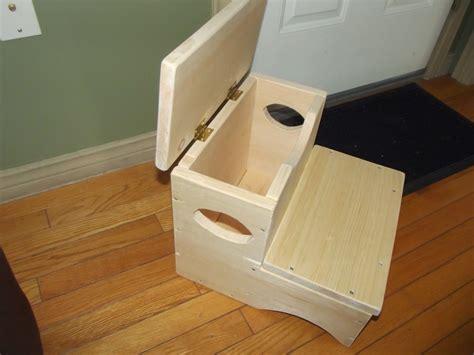 good idea  storage step stool  terribly