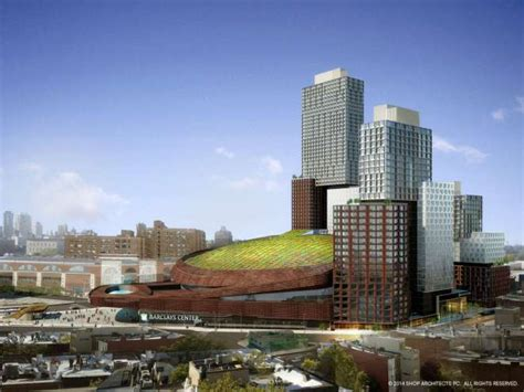 green roof  barclays center  shop architects