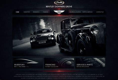 Car Designer Website by 20 Automotive Website Designs For Your Inspiration Hongkiat