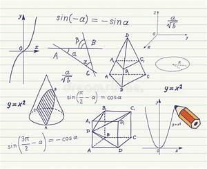 Geometrische Formen Berechnen : mathematik geometrische formen und ausdr cke vektor abbildung illustration von vorstand ~ Themetempest.com Abrechnung