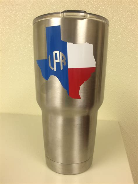 yeti rambler custom texas monogram yeti cup designs customized yeti tumblers