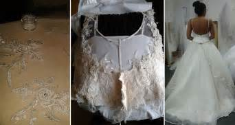 thrift store wedding dress see how one transformed a thrift store wedding dress into something awesome