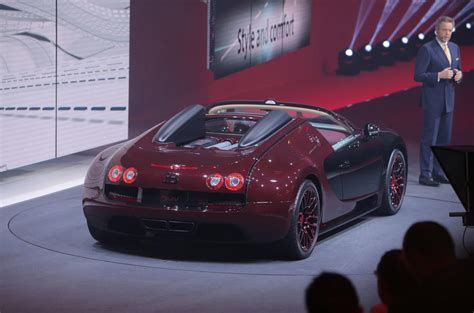 Commissioned by a customer in singapore. Bugatti Veyron La Finale special edition unveiled   Autocar