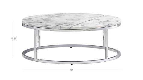 smart round marble top coffee table smart round marble top coffee table cb2