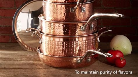 lagostina martellata copper  copper cookware youtube