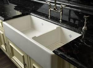 spotlight on farmhouse sinks abode With apron sink vs farmhouse sink