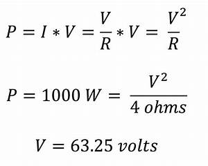 an introduction to ohm39s law and power pro audio files With definition of amps definition of volts definition of watts