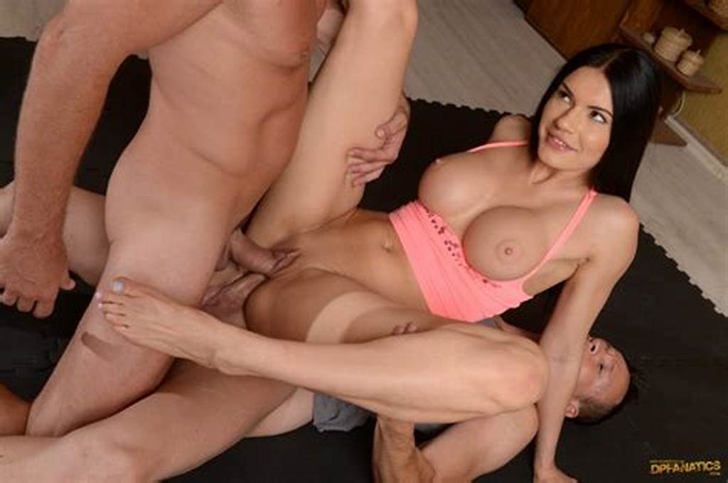 #Kitana #Lure #Busty #Yoga #Girl #Double #Penetration